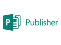Microsoft Publisher 2016 - Licens - 1 PC - academic - OLP: Academic - Win - Single Language 164-07718