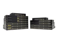 Cisco 250 Series SG250-08 - Switch - L3 - smart - 8 x 10/100/1000 - skrivbordsmodell SG250-08-K9-EU