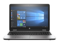"HP ProBook 650 G3 - 15.6"" - Core i5 7200U - 8 GB RAM - 256 GB SSD - med HP Ultra-Slim Docking Station BZ2X27EA01"